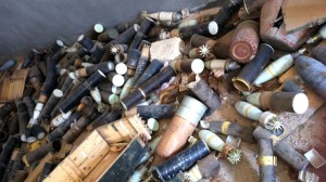 Weapons smuggled from Libya