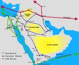Arabian incense trade route-1